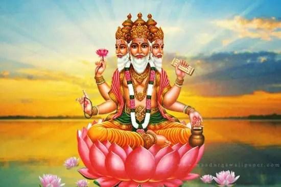 Lord Brahma Wallpaper