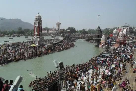 Makar Sankranti bath in holy river