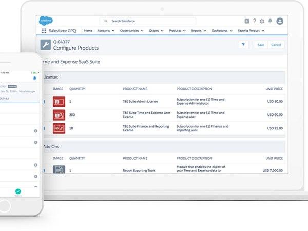 Generate professional and consistent custom quotes in minutes with Salesforce CPQ