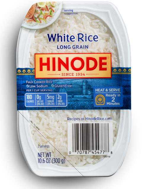 2 Minute Rice Trays Microwavable White Rice