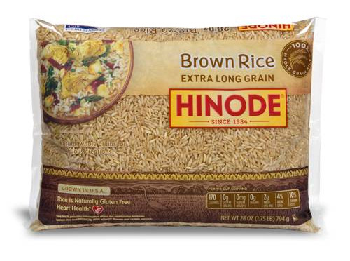 Extra Long Whole Grain Brown Rice Hinode Rice