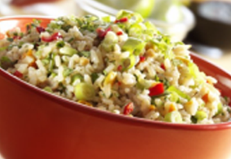 brown rice oriental salad
