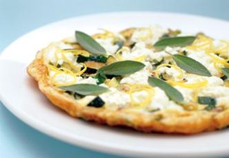 Hinode rice: Cheesy Egg and Zucchini Frittata with Rice Recipe