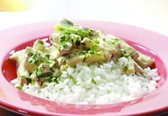 Hinode rice:: Beef and Mushroom Stir Fried Rice Recipe