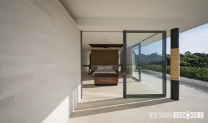 classic white limestone, modern and clean fit with architectural modern design