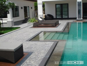 Palladiana Mosaic for pool deck and flooring used