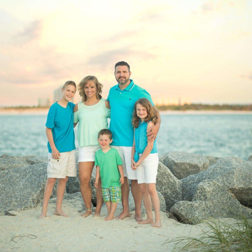 daytona beach family portraits