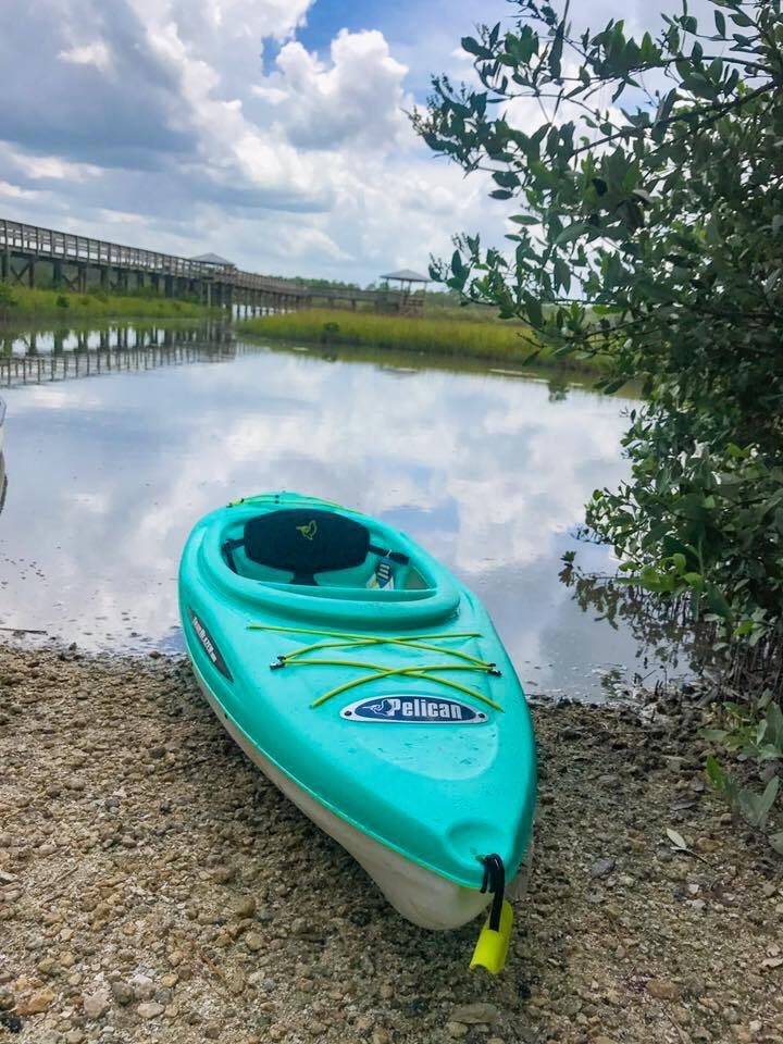New Smyrna Beach kayak launch at Spruce Creek Park