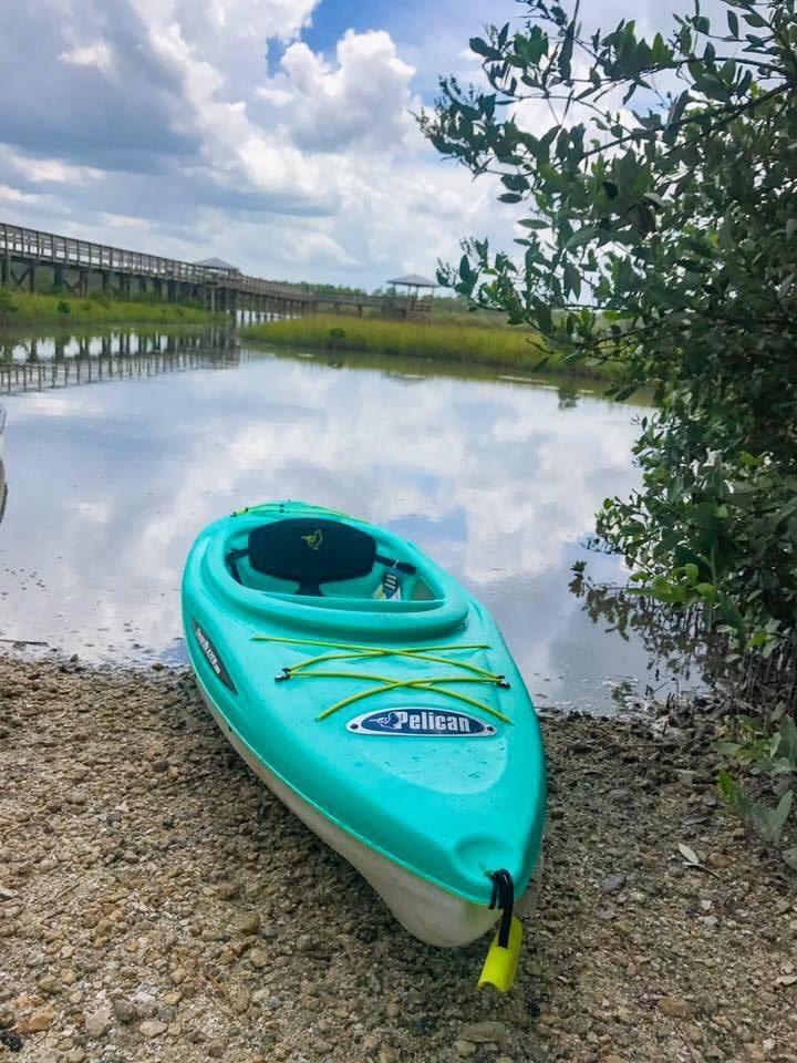 New Smyrna Beach kayak launch at Spruce Creek Park