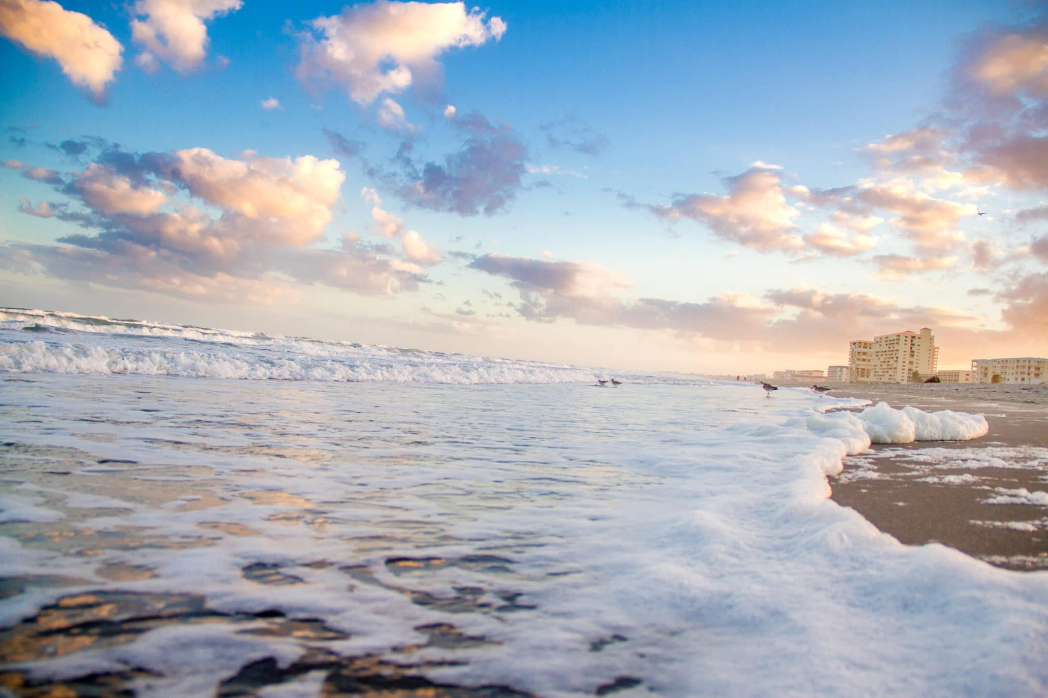 Lori Wilson Park beach in Cocoa Beach by a photographer in Cocoa Beach