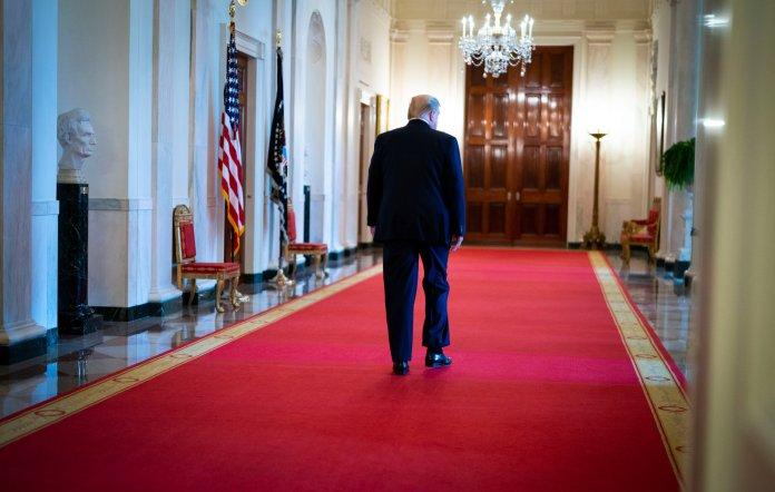 salida de Donald Trump