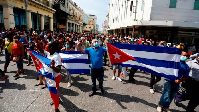 Cuba protesta