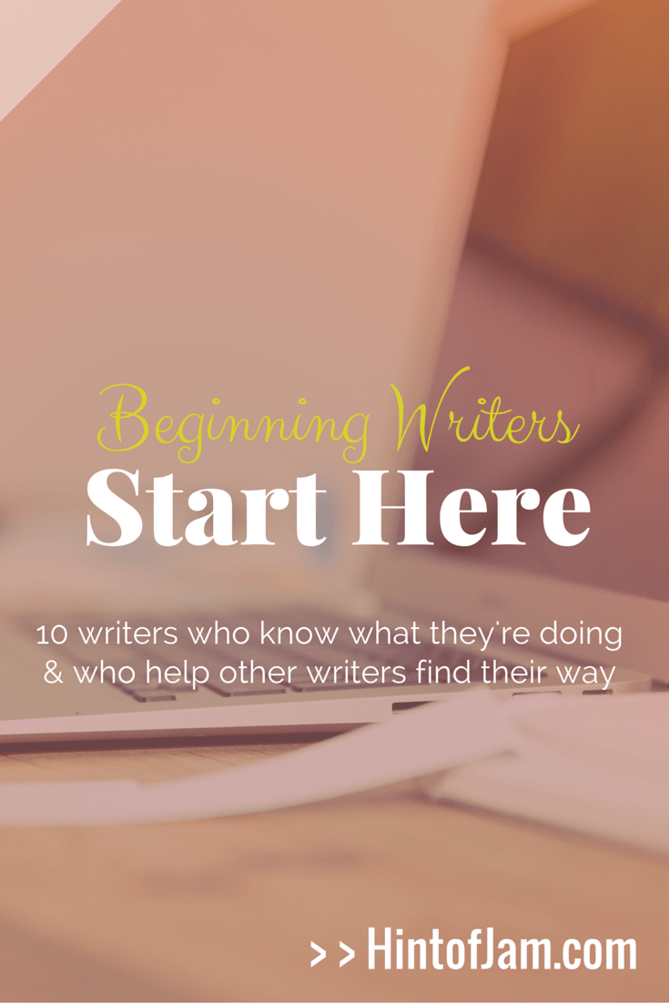 With all the resources on the web, writers can easily get overwhelmed with the information. Jamae curates 10 of the best resources of writers who can help beginning writers build their platforms, write their novels, publish their work, and conquer their writerly goals. | Hint of Jam