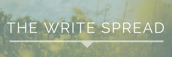 Subscribe to The Write Spread Newsletter | Hint of Jam