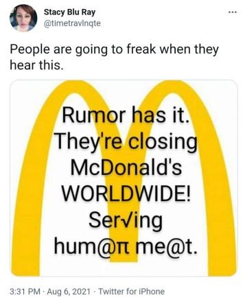 Menschenfleisch