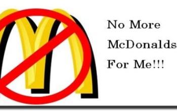 McDonalds - NO