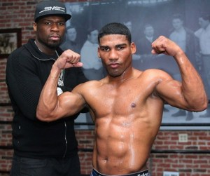 50 Cent and Gamboa