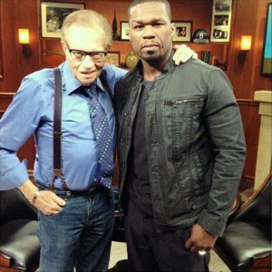 50 Cent Larry King