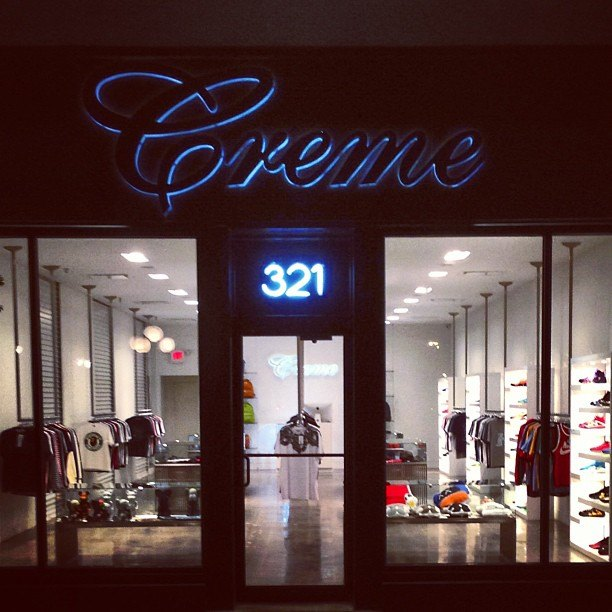 Pusha t clothing store
