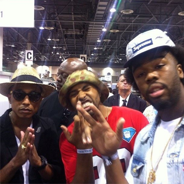 Iamsu! and Pharrell