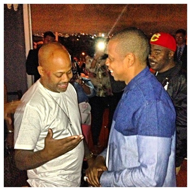 Jay-Z and Damon Dash 1