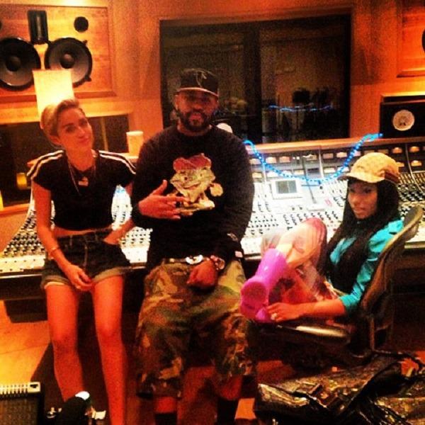 Miley and Nicki