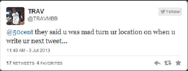 Trav tweet 2