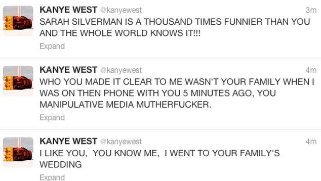 Kanye West rant 3