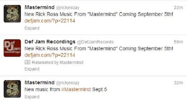 Rick Ross tweets