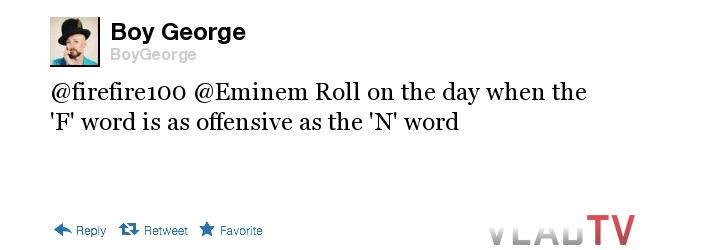 Boy George tweet 2