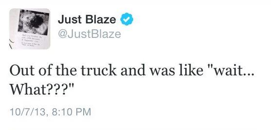 Just Blaze tweet 3