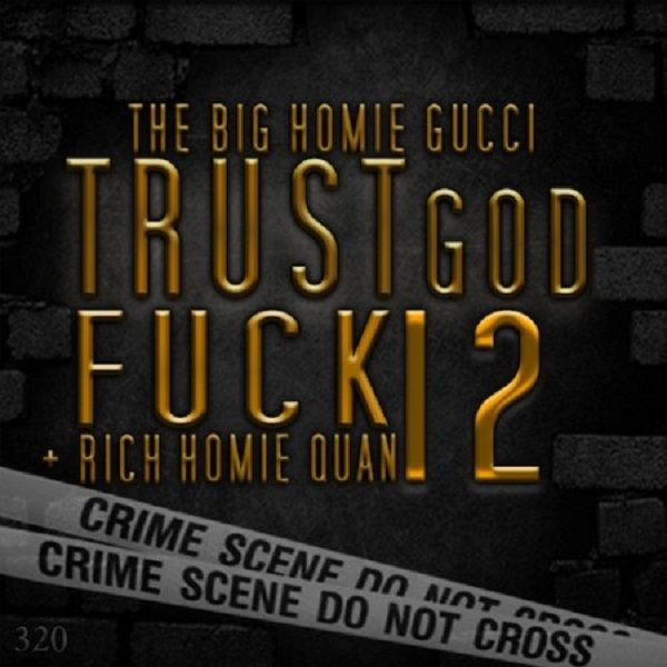 Trust God Fuck 12 front