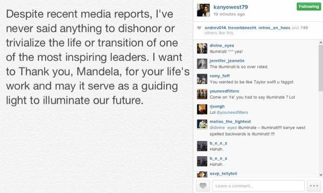 Kanye Mandela IG