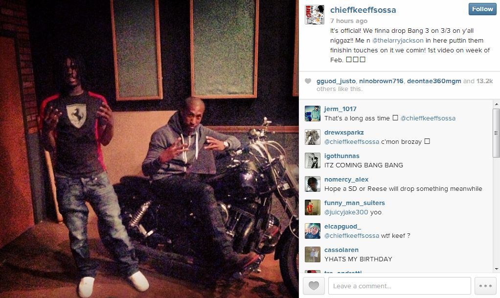 Chief Keef Bang 3 IG