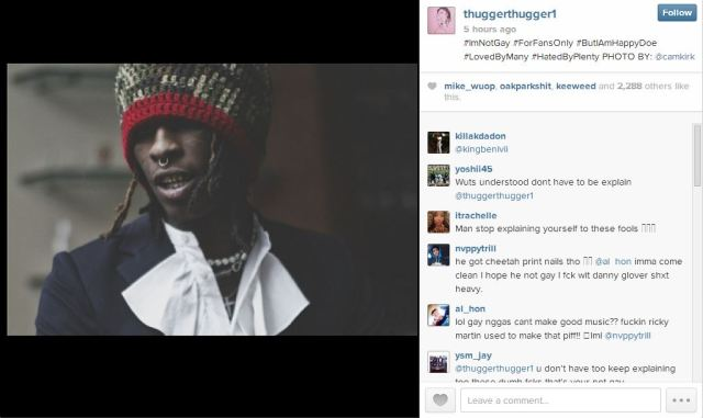 Young Thug not gay