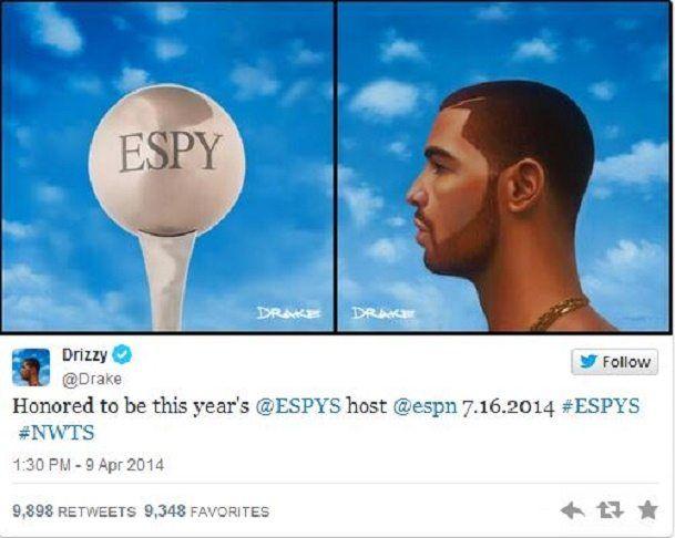 Drake ESPY