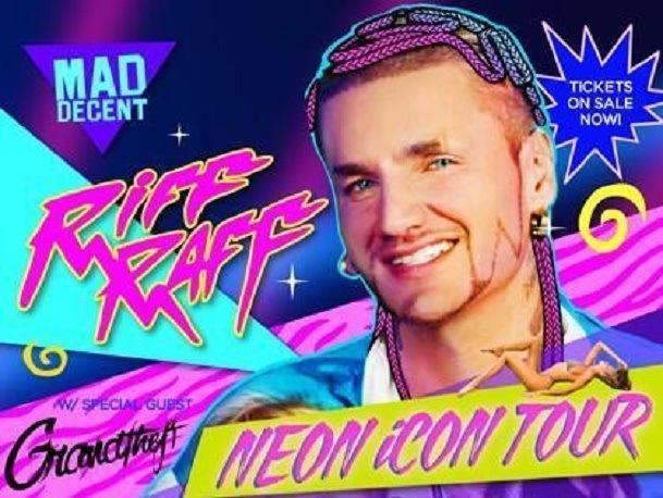 Neon Icon tour