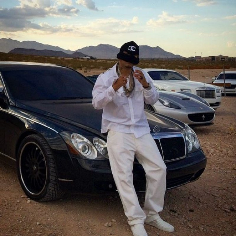 French Montana whips