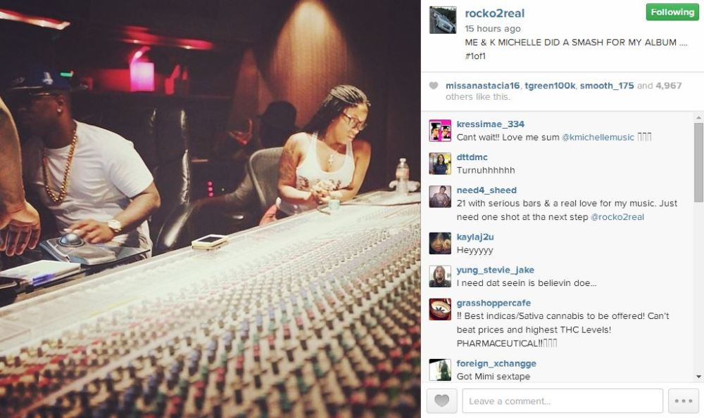 Rocko K. Michelle studio