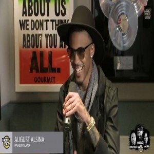 August Alsina Hot 97 3
