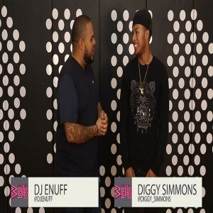 Diggy Simmons DJ Enuff