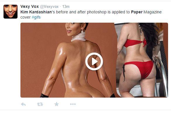 Twitters Reaction To Kim Kardashians Nude Pictures