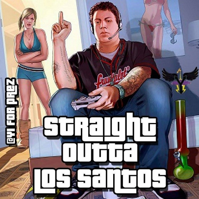 Straight Outta Los Santos