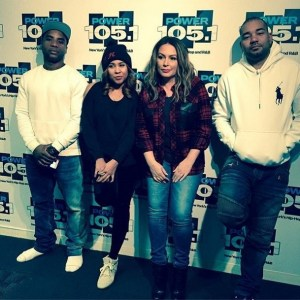 Angie Martinez Breakfast Club