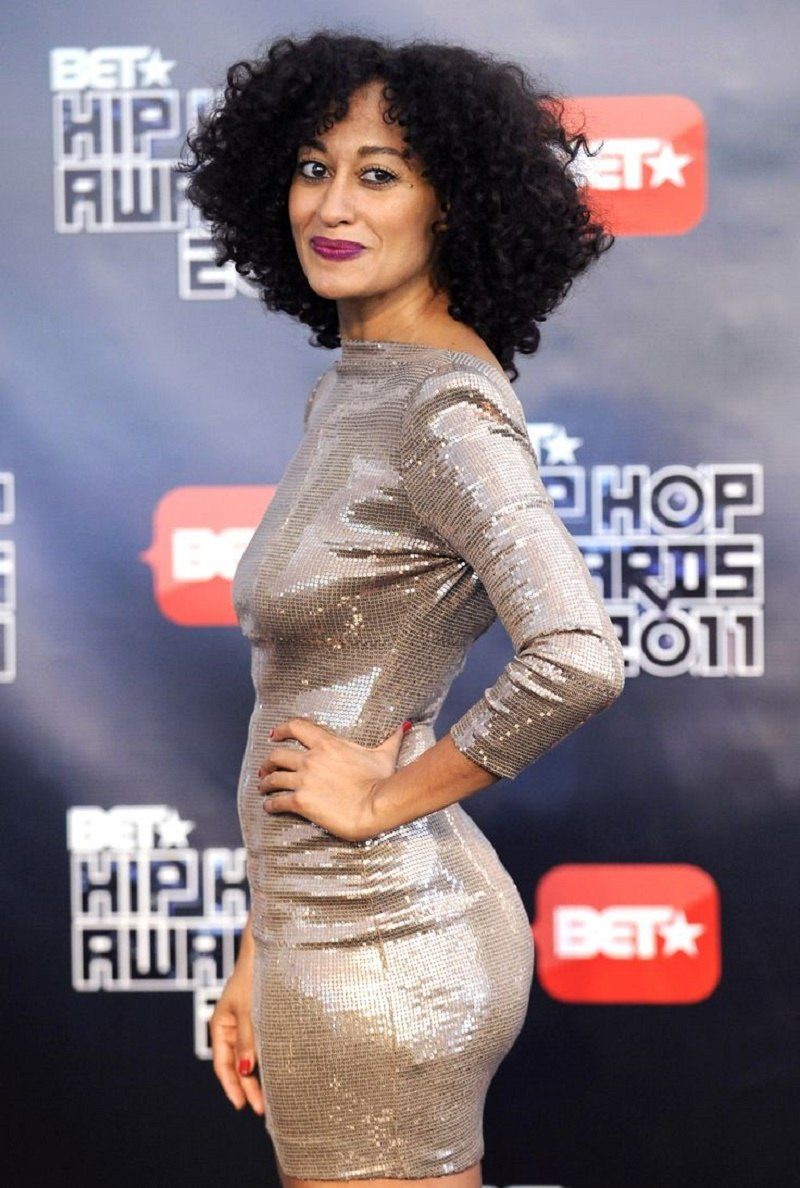 ATLANTA, GA - OCTOBER 1: Tracee Ellis Ross arrives for the 2011 BET Hip Hop Awards at the Boisfeuillet Jones Atlanta Civic Center, October 1, 2011 in Atlanta, Georgia. The show airs on Tuesday, October 11th at 8:00 p.m on BET. (John Amis/PictureGroup)