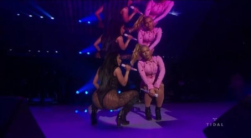 Nicki Beyonce Tidal