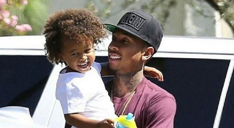 Tyga Shares Birthday Celebration With His Son King To His