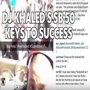 DJ Khaled Super Bowl USA Today Sports