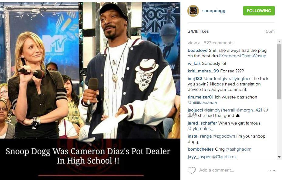 Snoopdoggcamerondiazig