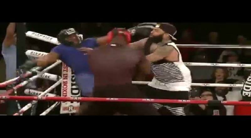 Big Brody vs Tyrone - Celebrity Boxing FULL FIGHT - Today Food